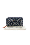 Louis Vuitton Since 1854 Zippy Wallet - Blue Jacquard