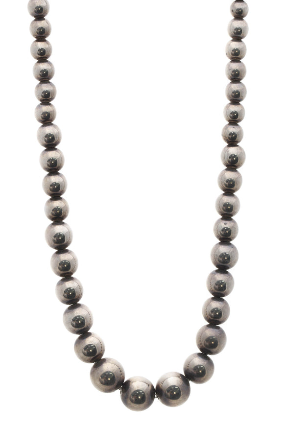 Tiffany & Co. Hardwear Graduated Ball Necklace - Silver