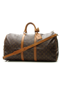 Louis Vuitton Vintage Keepall Bandouliere 55 Travel Bag - Monogram