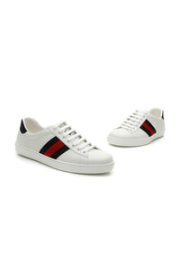 Gucci Ace Men's Sneakers - White US Size 8.5