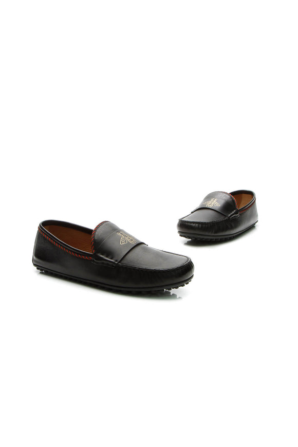 Gucci Kanye Bee Keeper Loafers - Black US Size 9.5