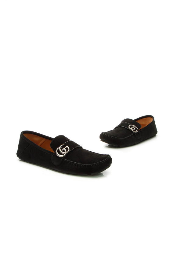 Gucci Noel Marmont Men's Loafers - Black Size US Size 12.5