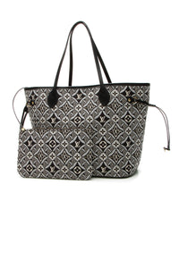 Louis Vuitton Since 1854 Neverfull MM Tote Bag - Gray Jacquard