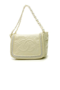 Chanel Luxe Ligne Flap Bag - Ivory