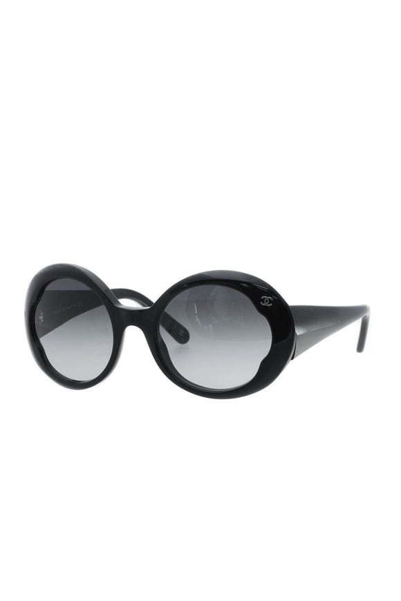 Chanel Round Sunglasses - 5154 Black