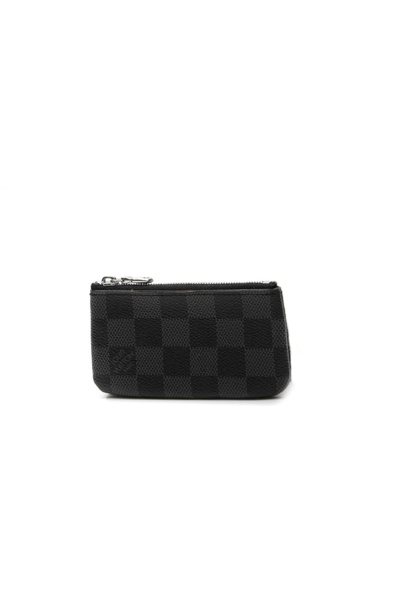 Louis Vuitton Key Pouch - Damier Graphite