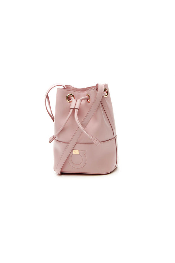 Salvatore Ferragamo Small City Bucket Bag - Pink