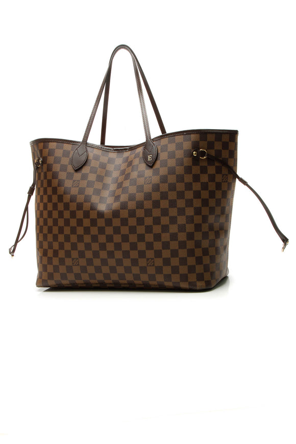 Louis Vuitton Neverfull GM Tote Bag - Damier Ebene