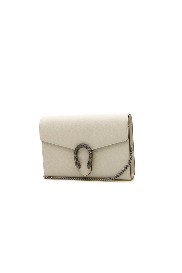 Gucci Dionysus Mini Chain Bag - White