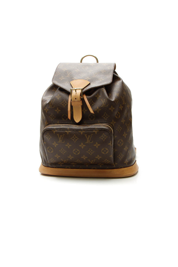 Louis Vuitton Vintage Montsouris GM Backpack - Monogram