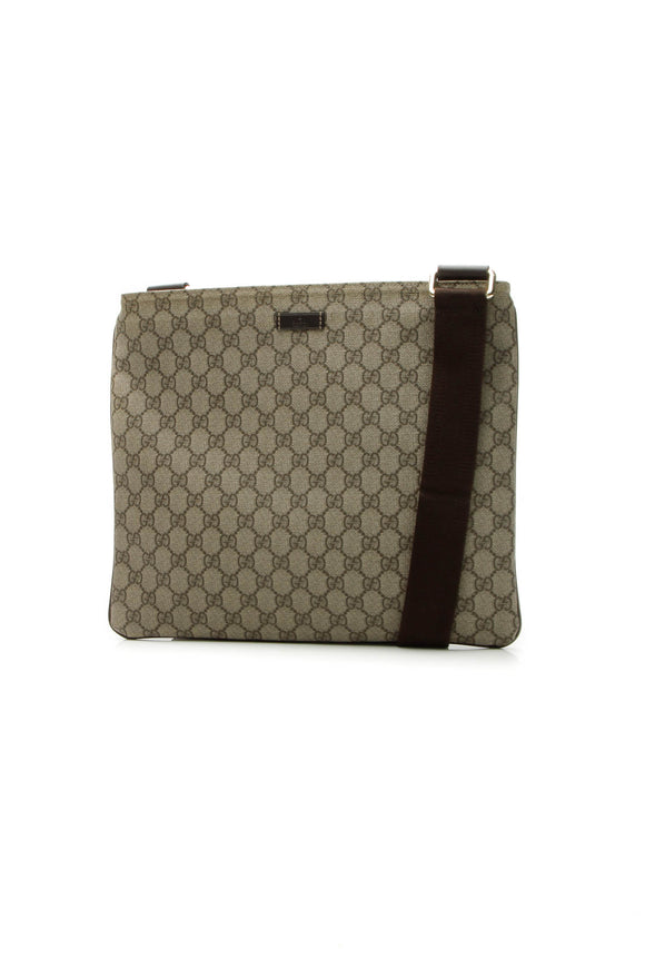 Gucci Messenger Crossbody Bag - Supreme Canvas