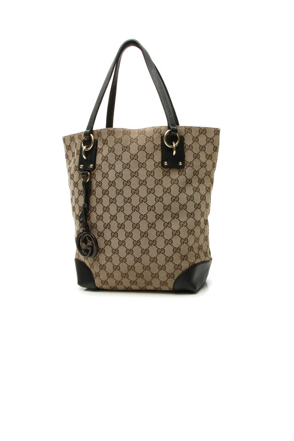 Gucci GG Charm Medium Tote Bag - Signature Canvas