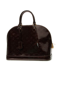 Louis Vuitton Vernis Alma GM Bag - Amarante