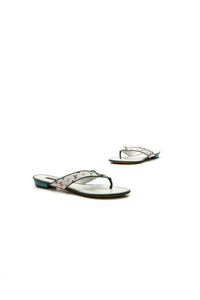 Louis Vuitton Thong Sandals - Multicolore Monogram Size 38.5