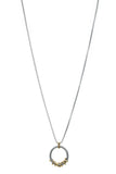 David Yurman Diamond Helena Medium Pendant Necklace - Silver