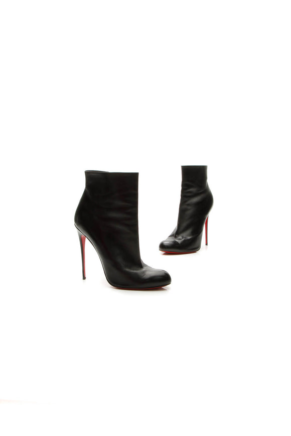 Christian Louboutin Fifi Booties - Black Size 41.5