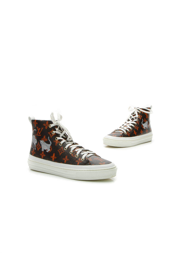 Louis Vuitton Catogram Stellar Sneakers - Transformed Monogram Size 40
