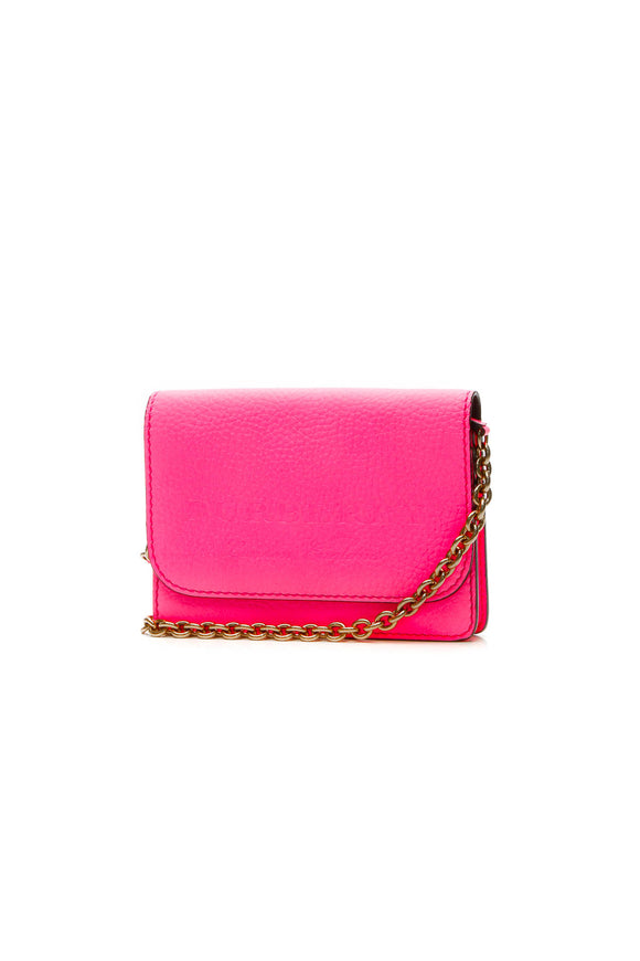 Burberry Embossed Hampshire WOC Bag - Bright Pink