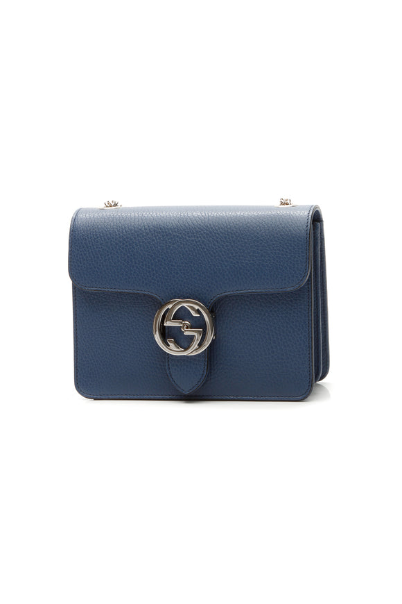 Gucci Dollar Small Shoulder Bag - Blue