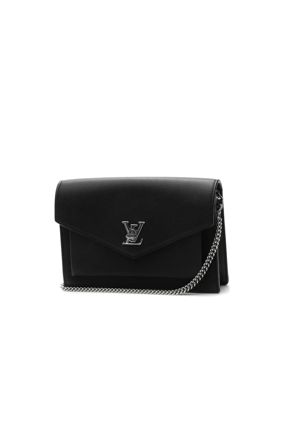 Louis Vuitton MyLockme Chain Pochette Bag - Black
