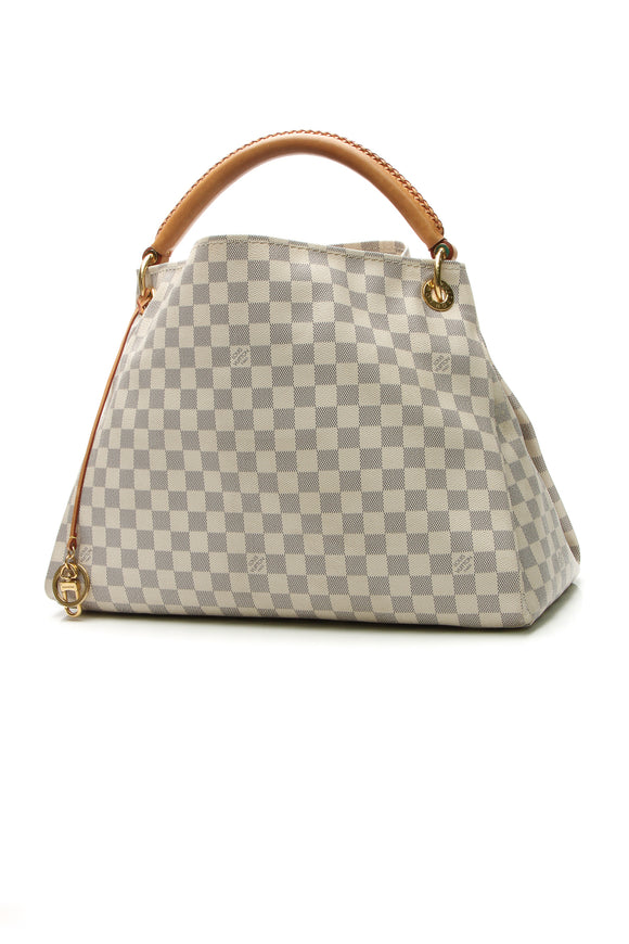 Louis Vuitton Artsy MM Bag - Damier Azur