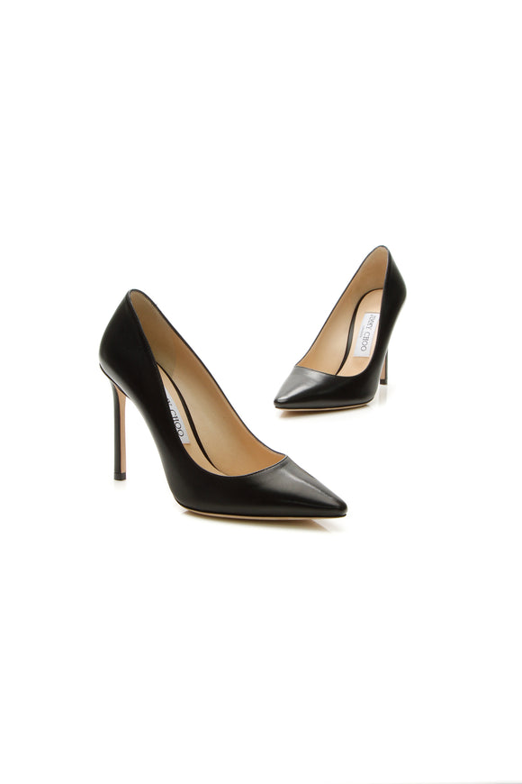 Jimmy Choo Romy Pumps - Black Size 36.5