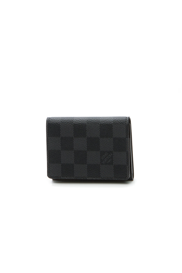 Louis Vuitton Envelope Business Card Holder - Damier Graphite