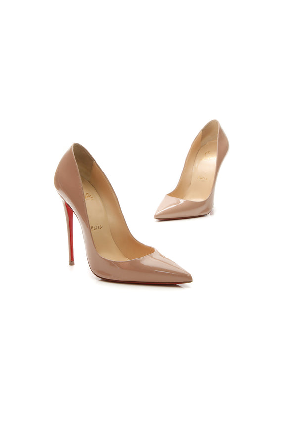 Christian Louboutin So Kate 120 Pumps - Nude Size 37