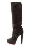 Christian Louboutin Harletty Royal Boots - Gray Size 38