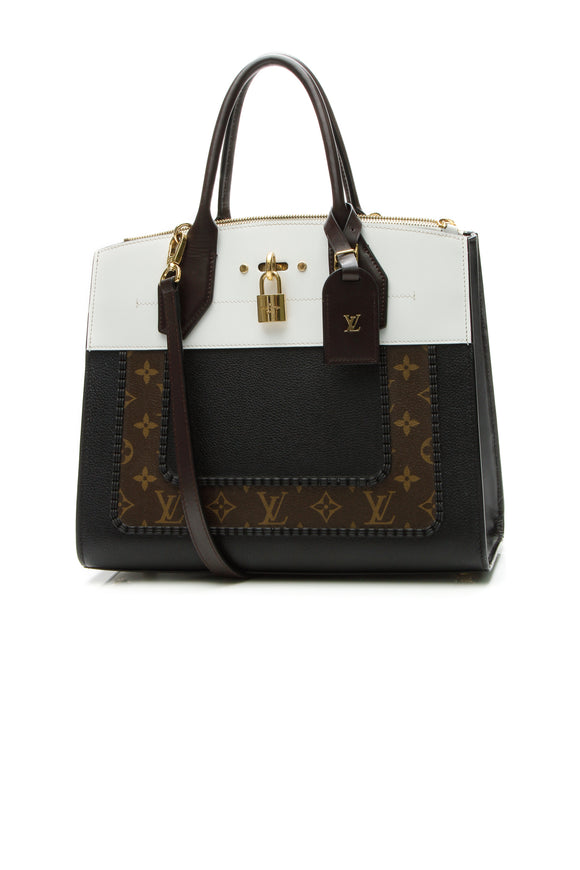 Louis Vuitton City Steamer MM Bag - Monogram/Black