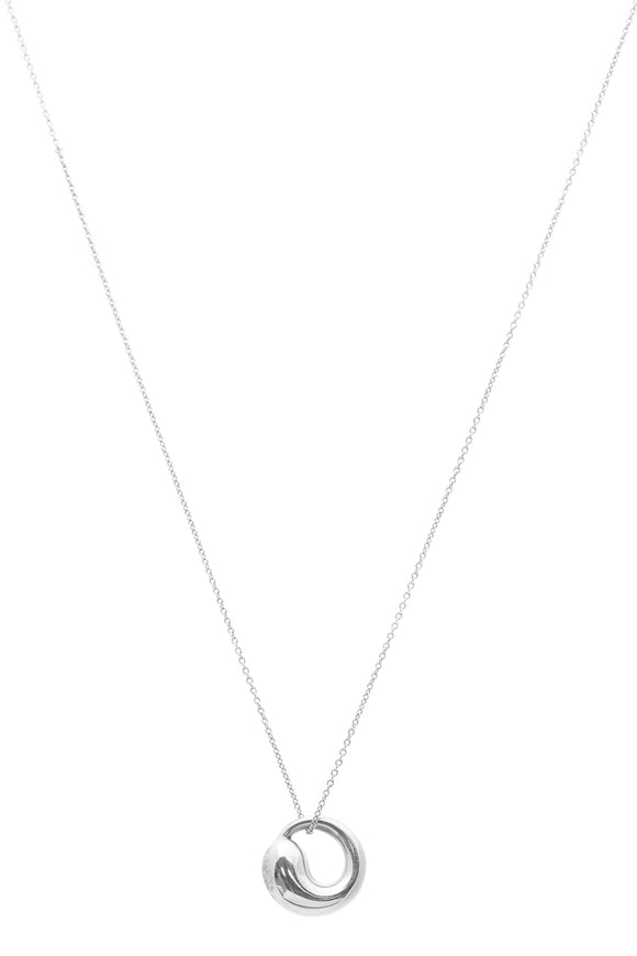 Tiffany & Co. Elsa Peretti Eternal Circle Pendant - Silver