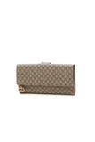 Gucci GG Star Continental Flap Wallet - Supreme Canvas