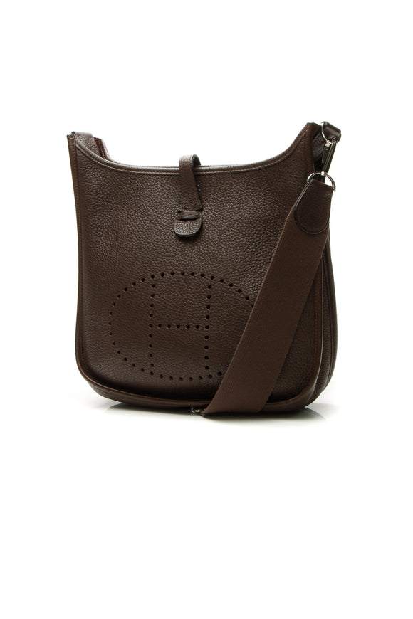 Hermes Evelyne III PM Bag - Brown Clemence
