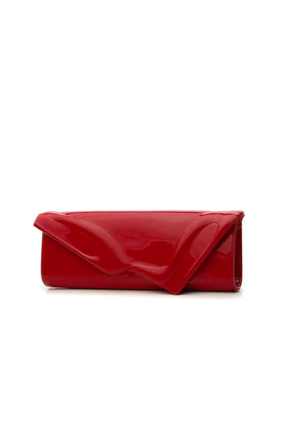 Christian Louboutin So Kate Baguette Clutch Bag - Red