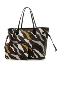 Louis Vuitton xLOL Neverfull MM Tote Bag - Monogram