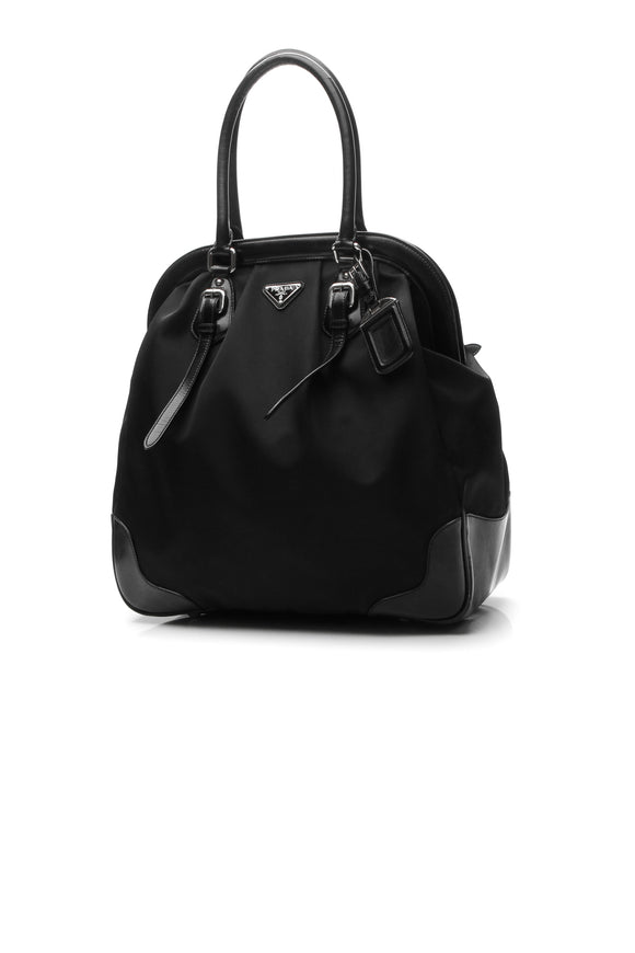 Prada North/South Doctor Bag - Black