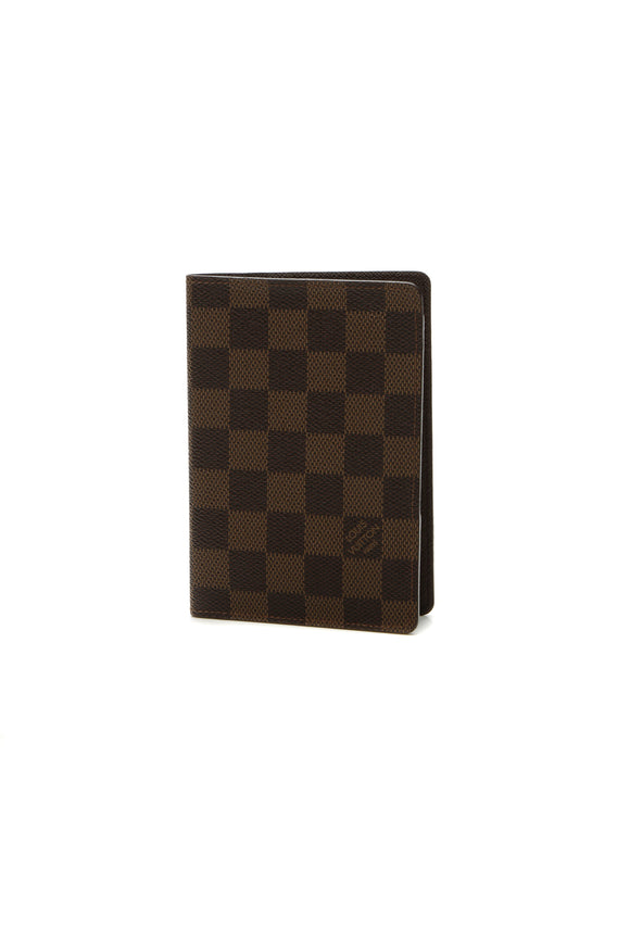 Louis Vuitton Passport Cover - Damier Ebene