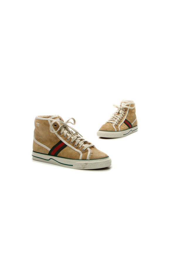 Gucci Tennis 1977 Men's Sneakers - Beige US size 9