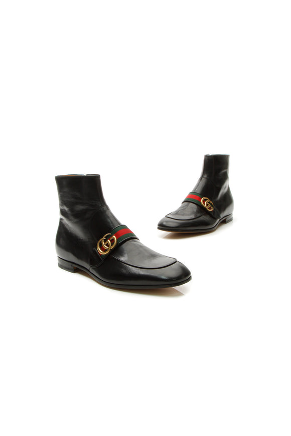 Web GG Donnie Men's Boots - Black US Size 10.5