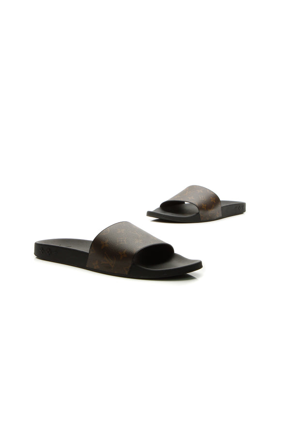 Louis Vuitton Waterfront Men's Mule Sandals - Monogram US Size 13
