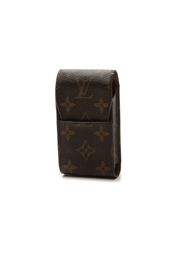 Louis Vuitton Cigarette Box Holder - Monogram