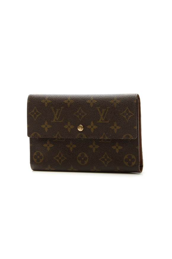 Louis Vuitton Vintage Passport Organizer Wallet - Monogram