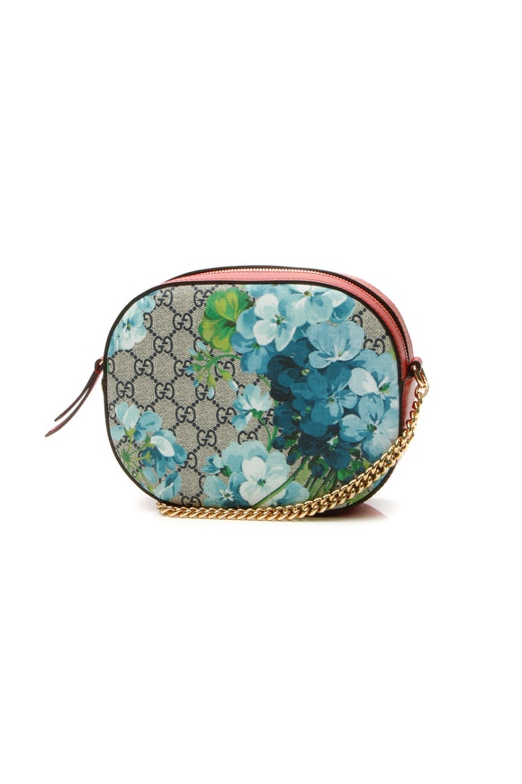 Gucci Blooms Mini Chain Bag - Supreme Canvas
