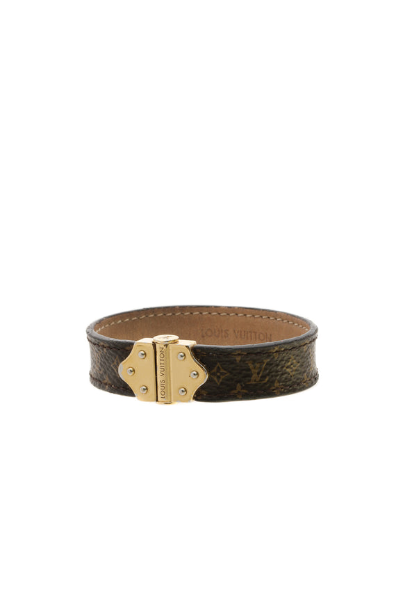 Louis Vuitton Nano Monogram Bracelet - Brown