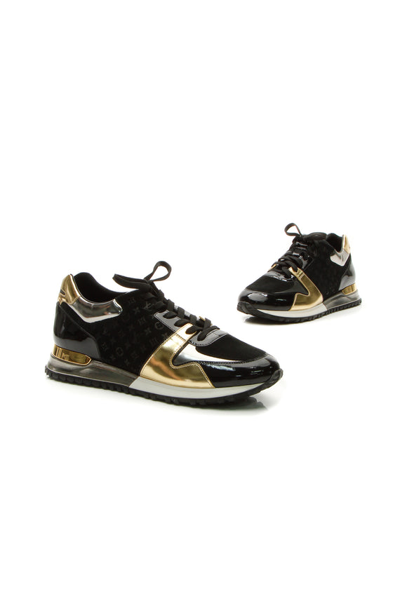 Louis Vuitton Run Away Sneakers - Black Size 41