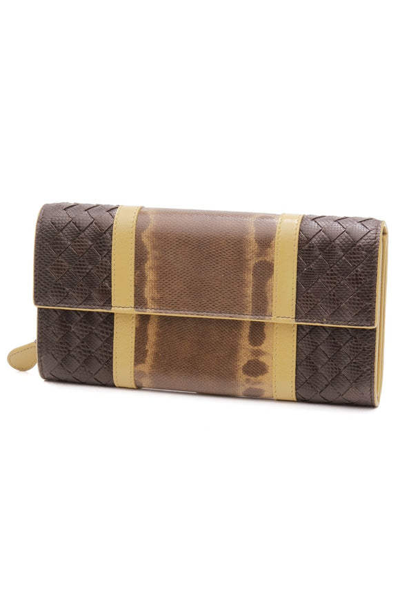 bottega-veneta-karung-leather-continental-wallet-espresso-luteous