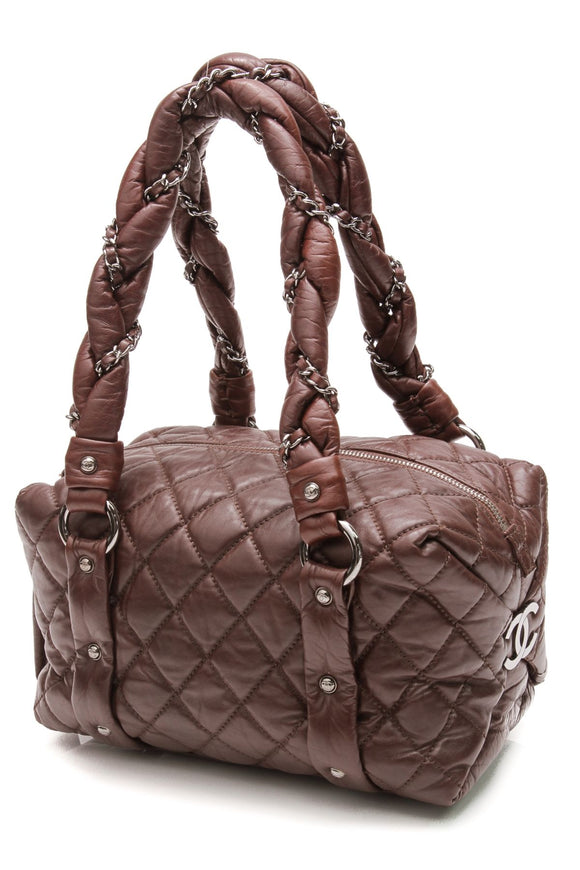 chanel-lady-braid-small-bag-brown-leather