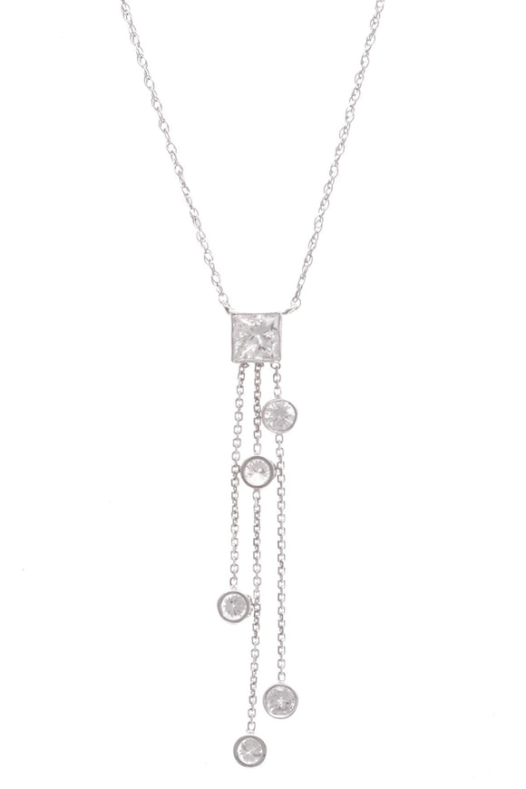 14k-white-gold-diamond-three-tassel-necklace
