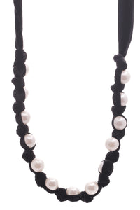 lanvin-velvet-faux-pearl-necklace-black