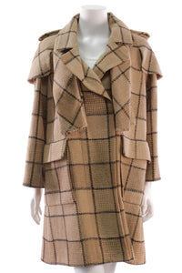 chanel-tweed-coat-camelblack-plaid